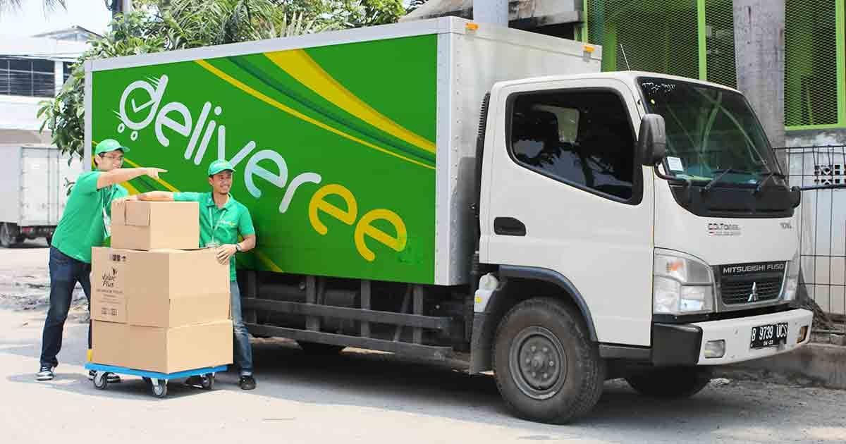ส่งของกับ Deliveree